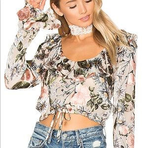 For love and lemons Luciana top